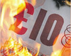 £100 million poured down drain