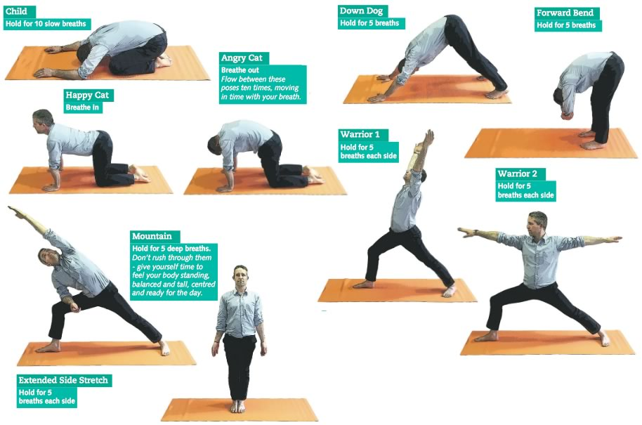 Waking up with yoga | insidetime & insideinformation
